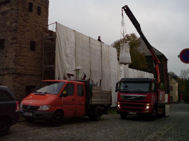 Begr�nung Stadtmauer Marienberg